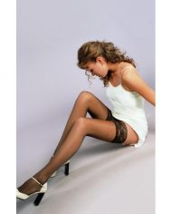 aKompresinės ilgos kojinės SOLIDEA Marilyn 30 Sheer is elady.lt